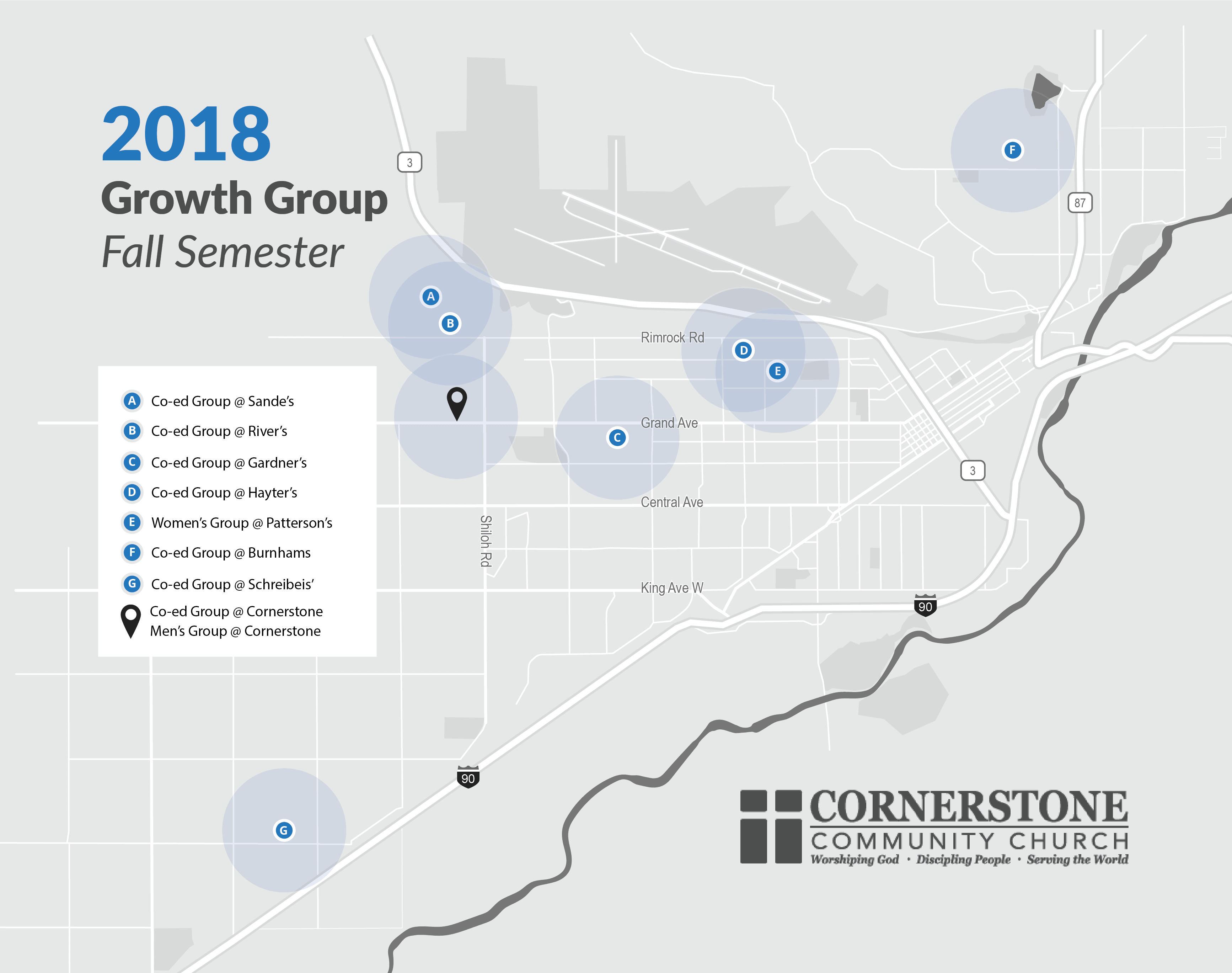 Growth Group Map